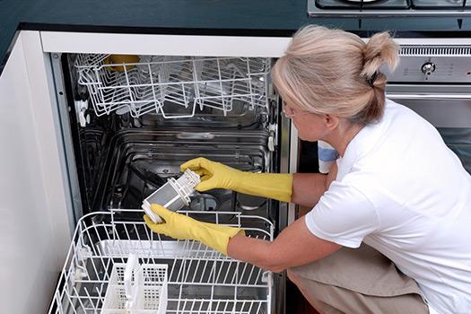 نظافت ماشین ظرفشویی