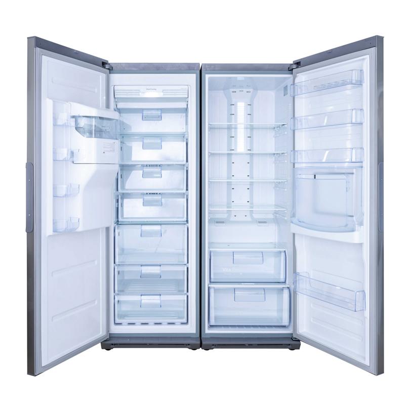نمای داخلی یخچال فریزر دوقلو هیمالیا مدل دلتا