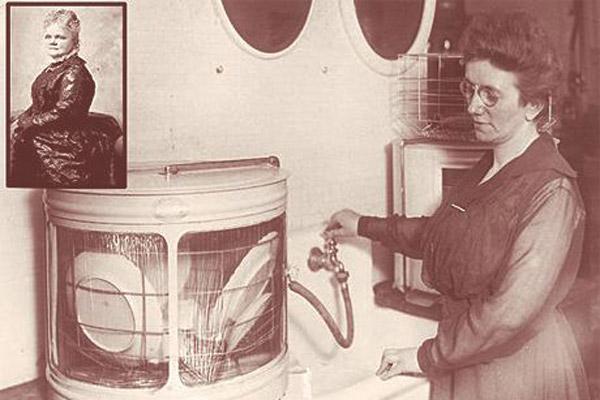 اختراع ماشین ظرفشویی